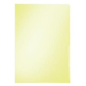 Leitz Sichthülle Premium - DIN A4 - 0,15 mm - gelb