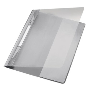 Leitz Exquisit Sichthefter - DIN A4 - PVC - grau