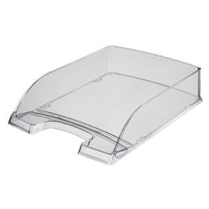 Leitz Briefkorb Plus transparent - DIN A4 - glasklar