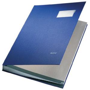 Leitz Unterschriftenmappe - DIN A4 - 20 Fächer - blau