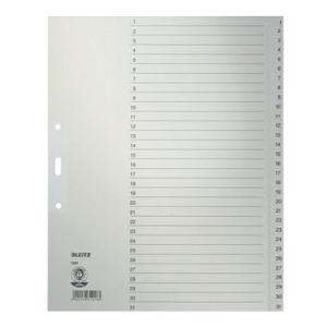 Leitz Zahlenregister - DIN A4+ - 1-31 - Tauenpapier -...