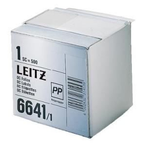 Leitz Schutzfolienschild - 72 x 39 mm - selbstklebend -...