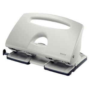 Leitz Doppellocher 5012 - 40 Blatt - grau