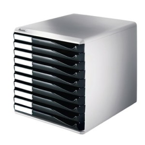 Leitz Schubladenbox Formular-Set - DIN A4 - 10 Schubladen...