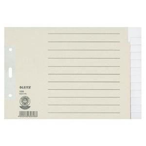 Leitz Register - DIN A5 quer - blanko - Tauenpapier -...