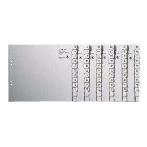 Leitz Registerserie - DIN A4 - A-Z - Tauenpapier -...