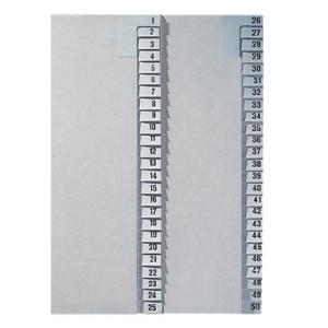 Leitz Zahlenregister - DIN A4 - 26-50 - Tauenpapier -...