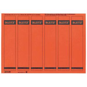 Leitz Ordner-Rückenschilder PC-beschriftbar - 6,1 x...