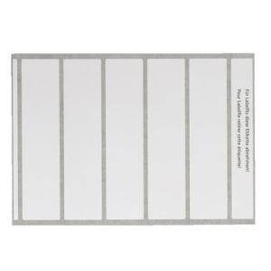 Leitz Beschriftungsetiketten OC Plus 6652 - 4,6 x 19,5 cm...