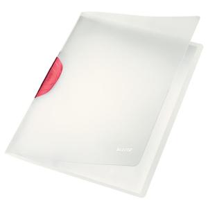 Leitz Klemm-Mappe ColorClip Magic - DIN A4 - 30 Blatt - rot
