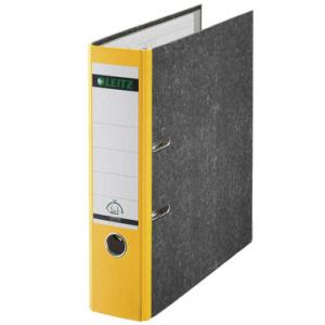 Leitz Ordner 180° - DIN A4 - 8 cm - Rücken gelb