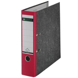 Leitz Ordner 180° - DIN A4 - 8 cm - Rücken rot
