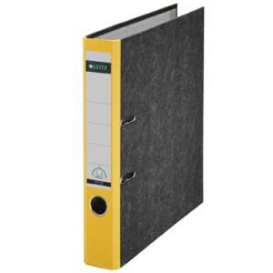 Leitz Ordner 180° - DIN A4 - 5,2 cm - Rücken gelb