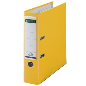 Leitz Ordner 180° - DIN A4 - 8 cm - gelb