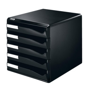 Leitz Schubladenbox Post-Set - DIN A4 - 5 Schubladen -...