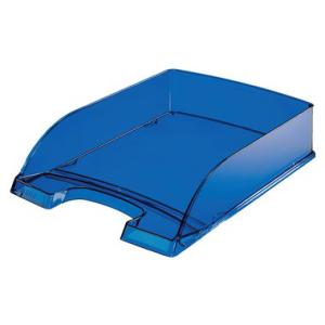 Leitz Briefkorb Plus transparent - DIN A4 - dunkelblau...