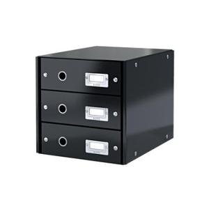 Leitz Schubladenbox Click & Store - DIN A4 - 3...