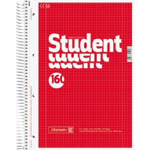 Brunnen Collegeblock Student, kariert, A4, Qualität...