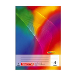 Brunnen Schulheft - DIN A5 - Lineatur 4 - 16 Blatt