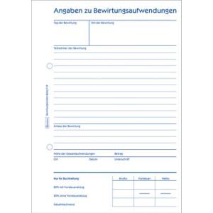 Avery Zweckform Formulare, Bewirtungskostenbeleg, nach...