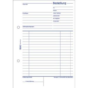 Avery Zweckform Formulare, Bestellung, 2. Blatt zum...
