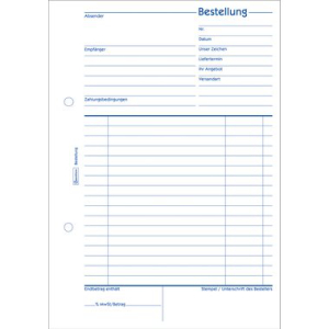 Avery Zweckform Formulare, Bestellung, 1. und 2. Blatt...