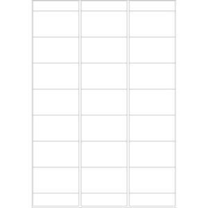 Avery Zweckform Adress-Etiketten auf Bogen, 67x38mm,...