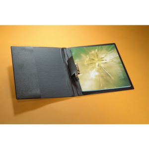 Durable Klemm-Mappe, Fassungsvermögen 1-100 Blatt,...