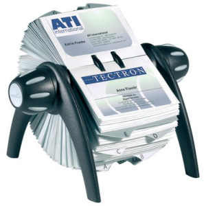 Durable Rollkartei VISIFIX FLIP, für Format...
