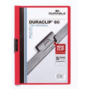 Durable Klemm-Mappe DURACLIP, A4, Fassungsvermögen...