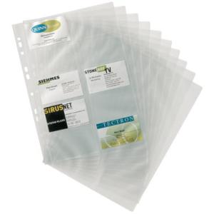 Durable Visitenkartenhüllen für VISIFIX, A4