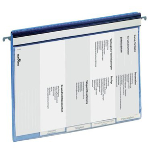 Durable Personalhefter, A4, blau