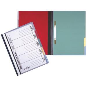 Durable Schnellhefter DIVISOFLEX, A4, blau