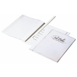 Durable Sichthefter DURAPLUS DE LUXE, A4, weiß
