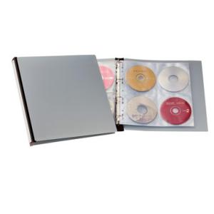 Durable CD-Ringbuch CD/DVD Album 96, für 96...