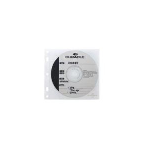 Durable CD/DVD-Hülle CD/DVD COVER FILE, für 2...