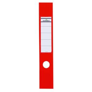 Durable Ordner-Rückenschilder ORDOFIX, lang, breit, rot