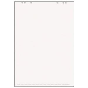 Landré Flipchart-Papier, blanko/blanko 5 Stück
