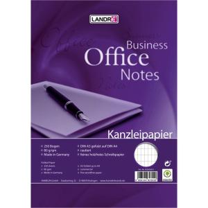 Landré Kanzleipapier Business Office Notes,...