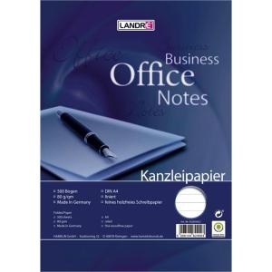 Landré Kanzleipapier WORK plano DIN A4, liniert...