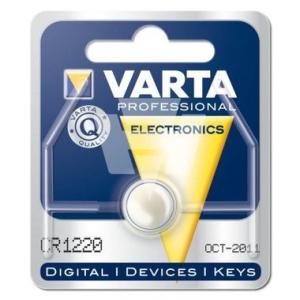 Varta Batterie Knopfzellen, IEC-Code CR1220, 3 V/35 mAh,...
