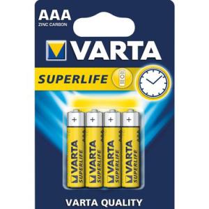 Varta Batterie Zink-Kohle, Micro 1,5 V, IEC-Code R03,...