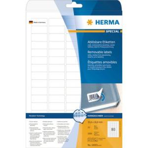 Herma 10003 SPECIAL Haftetiketten - 35,6 x 16,9 -...