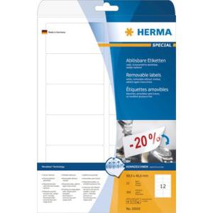 Herma 10010 SPECIAL Etiketten - 88,9 x 46,6 mm -...