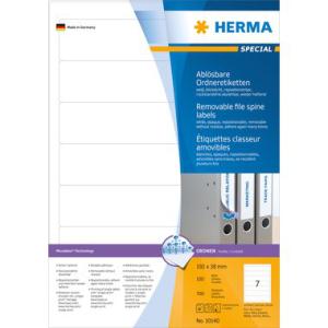 Herma 10140 SPECIAL Ordneretiketten - DIN A4 - 192 x 38...