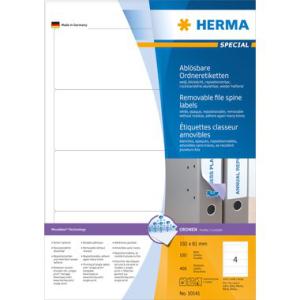 Herma 10141 SPECIAL Ordneretiketten - DIN A4 - 192 x 61...
