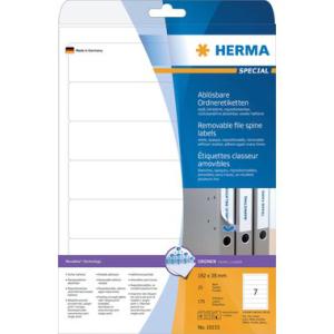 Herma 10155 SPECIAL Ordneretiketten - DIN A4 - 192 x 38...