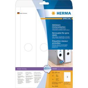 Herma 10185 SPECIAL Ordneretiketten - DIN A4 - 297 x 61...