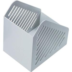 helit Stehsammler, A5, 11,8x19x16,8cm, lichtgrau