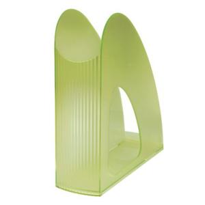 HAN Stehsammler Twin, 7,6x25,8x23,8cm, grün-transluzent